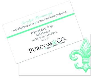 business card realtor